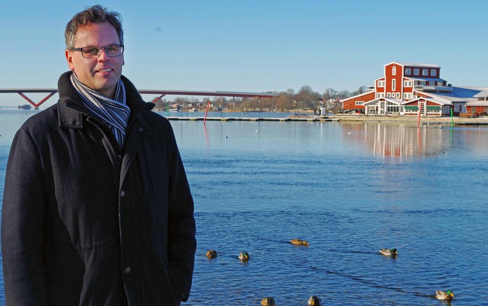 Johan Wernström, rektor på Mariebergsskolan i Motala.
