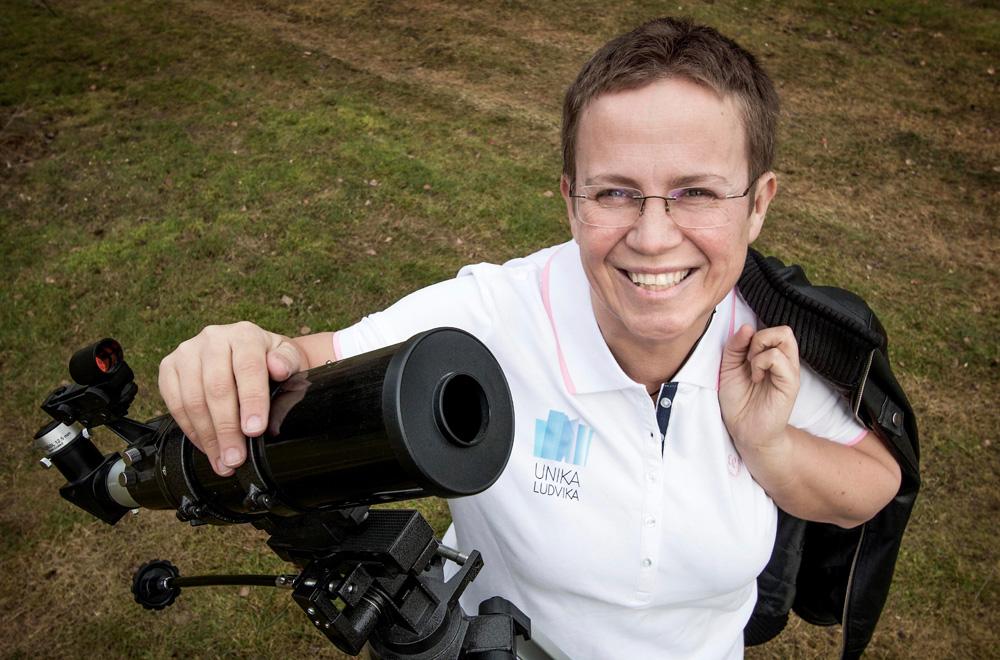 Jenny Jansson, förstelärare på Kyrkskolan i Ludvika. Foto: Peter Ohlsson