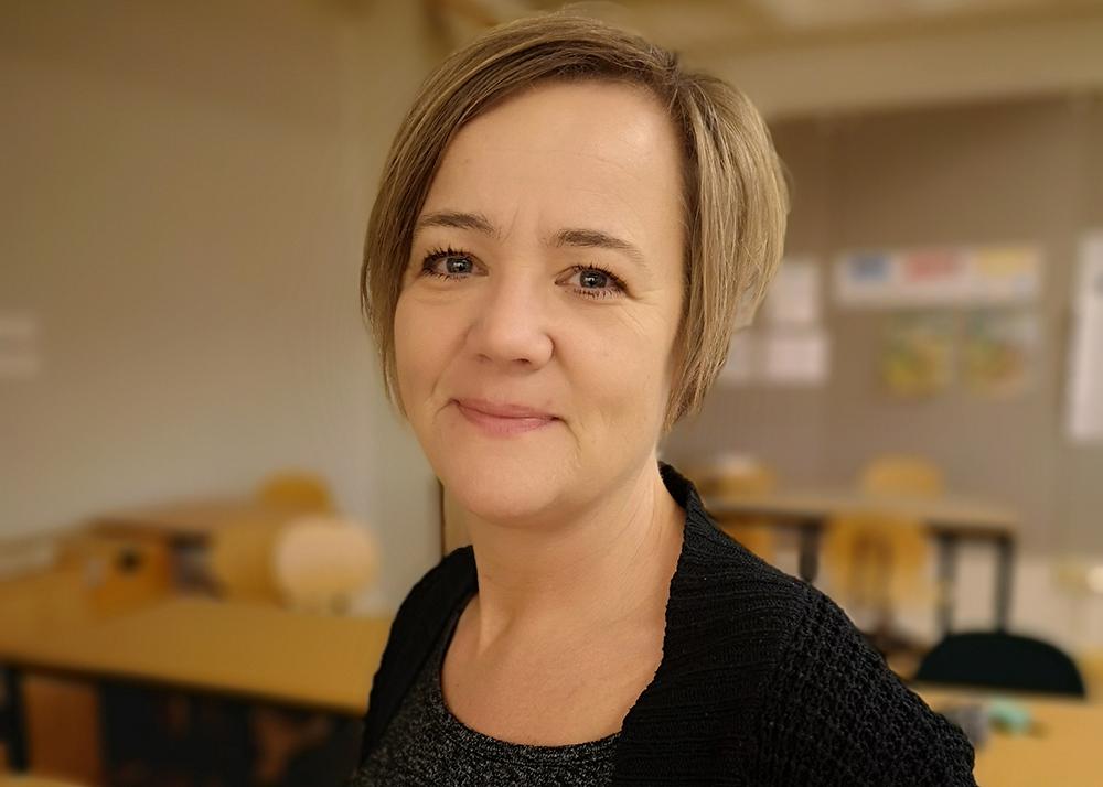 Ulrika Neuman, lärare i matematik och svenska samt IKT-coach vid Smaragdskolan och Färjestadens skola.