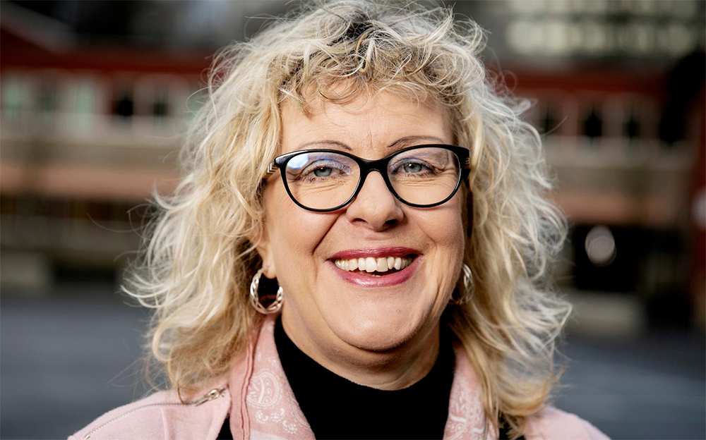Else-Marie Hallqvist, rektor på Nytorpsskolan i Hammarkullen utanför Göteborg. Foto: Per Wahlberg