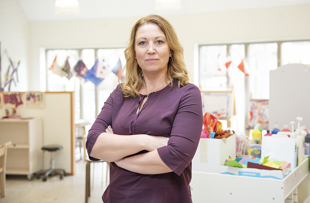 Johanna Jaara Åstrand, ordförande för Lärarförbundet. Foto: Lärarförbundet
