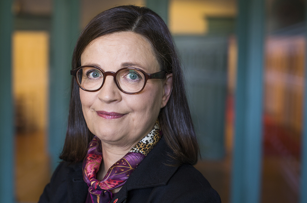 Anna Ekström (S), utbildningsminister. Foto: Kristian Pohl / Regeringskansliet