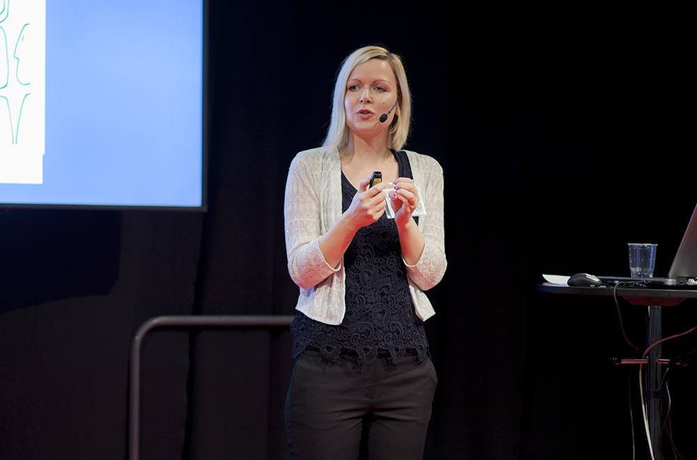 Jennie Wilson från Studentlitteratur. Foto: Pierre Karlge