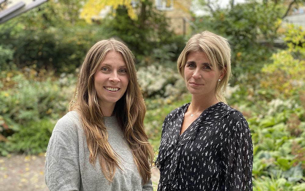 Anna Westermark, Sverigechef och Anna Hansson, läromedelsrådgivare på Clio.