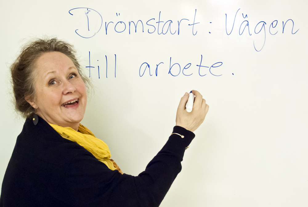 Ingrid Sördal, utbildningskonsult på Lernia i Göteborg. Foto: Jeanette Bergenstav