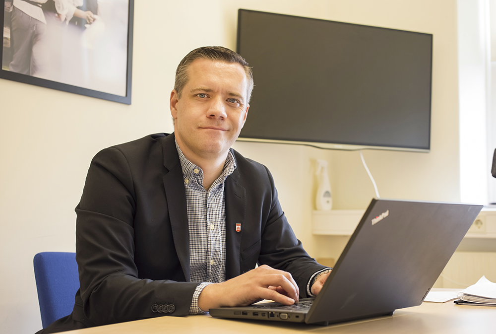 Christian Olsson, gymnasiechef i Helsingborgs stads skolor.