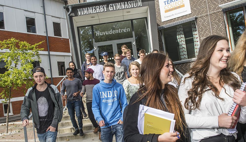 Foto: Vimmerby gymnasium