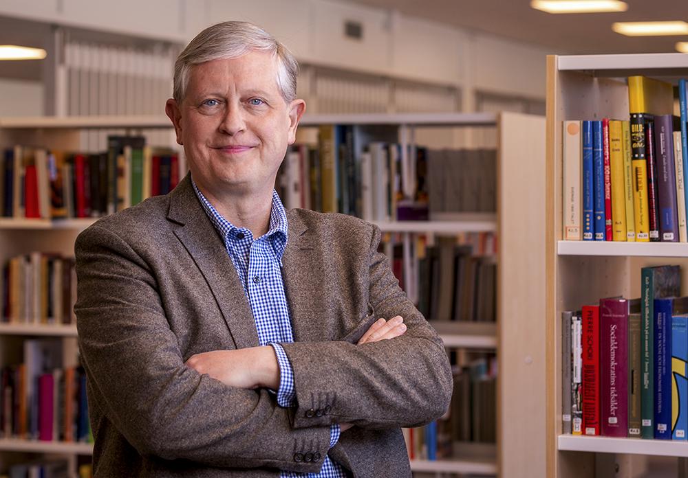 Thomas Winqvist, chef över Hälsinglands Utbildningsförbund. Foto: Johan Löf
