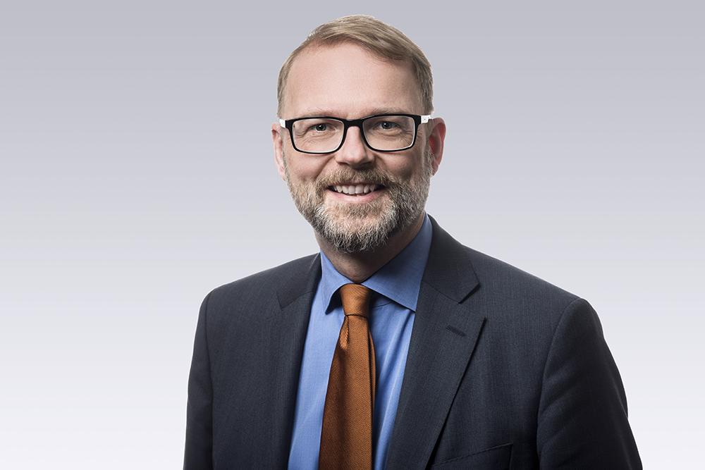 Tobias Krantz, chef för utbildning, forskning och innovation på Svenskt Näringsliv. Foto: Ernst Henry Photography