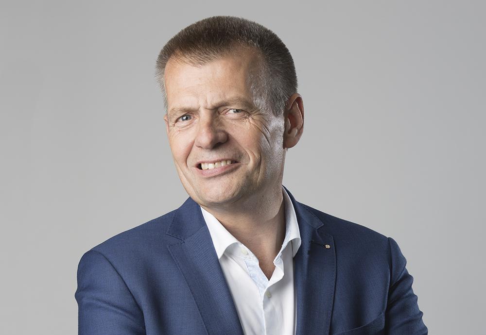 Matz Nilsson, förbundsordförande för Sveriges Skolledarförbund. Foto: Martin Lindeborg