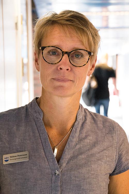 Helene Petersson, verksamhetschef på Nösnäsgymnasiet i Stenungsunds kommun.