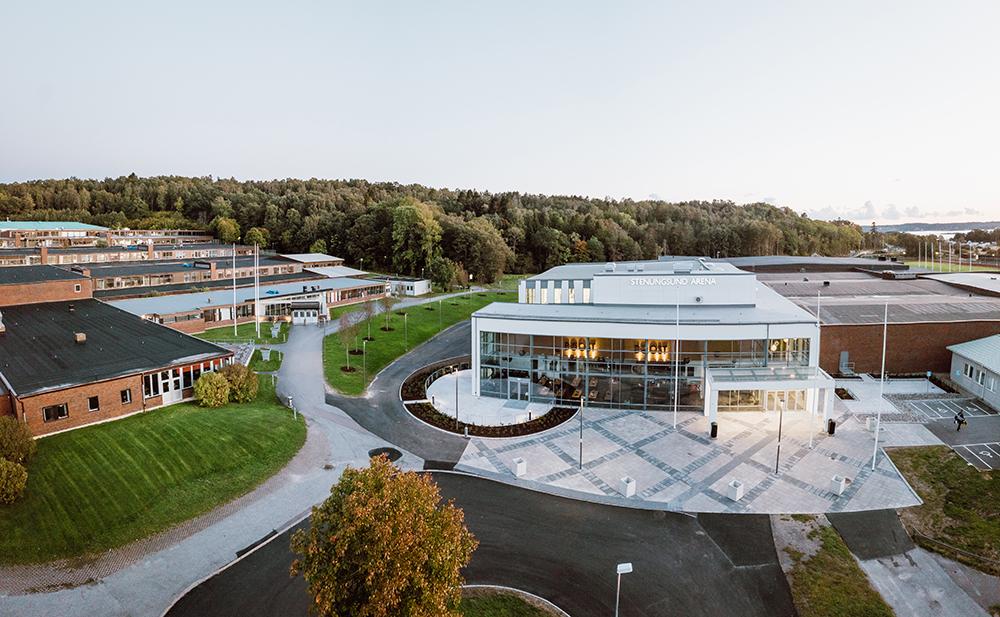 Nösnäsgymnasiet i Stenungsund är en flerfaldigt prisbelönad gymnasieskola. Foto: Stenungsunds kommun