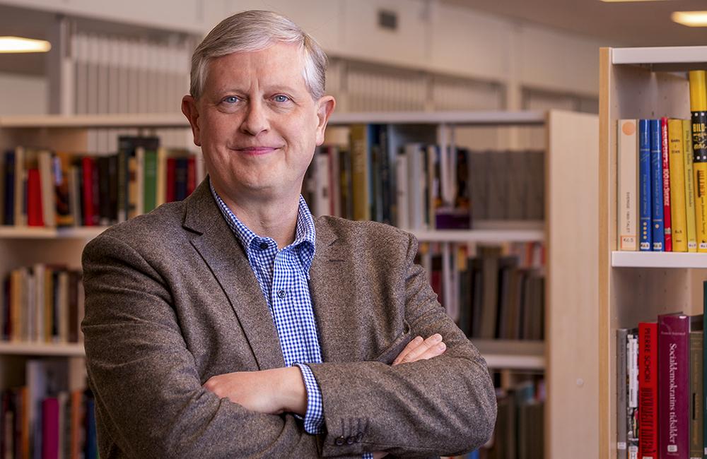 Thomas Winqvist, chef för Hälsinglands Utbildningsförbund. Foto: Johan Löf