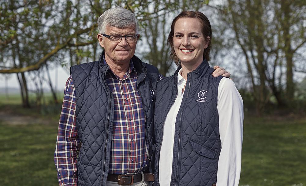 Per Jonsson, rektor och Maria Laopodis, biträd-ande rektor för Hvilan Gymnasium i Lund. Foto: Johan Stjerneus