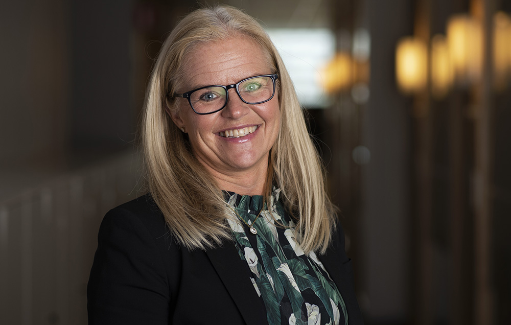 Marina Malmqvist, vd på Stadsmissionens Skolstiftelse. Foto: Robin Benigh / Stockholms Stadsmission